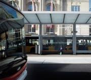 Verliert die VBSG Passagiere ans Postauto? Diese Frage soll bald geklärt werden. (Bild: Benjamin Manser)