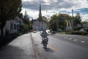 Die Kreuzung Zürcher- und Erlachstrasse soll für Fussgänger und Velofahrer ungefährlicher werden. (Bild: Benjamin Manser)