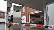 Diese Tankstelle in Arbon überfiel der 71-Jährige. (Bild: Manuel Nagel)