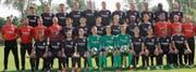 Das Frankfurter Nachwuchsteam gastiert am 11./12. Mai zum zweiten Mal nach 2010 am Altstätter U19-Turnier. (Bild: pd)