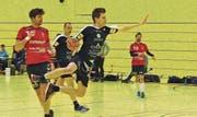 Der HC Rheintal ist in Fahrt: Pascal Wild gelangen sieben Tore, seinem Bruder Janik, der ebenfalls auf einer Aussenposition spielte, deren fünf. (Bild: Ulrike Huber)