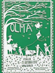 Das Olma-Plakat 2012 von Jolanda Brändle. (Bild: PD)