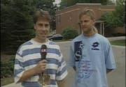 Matthias Hüppi und Alain Sutter 1994