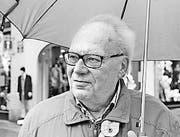 Walter Köppel, 78, Rentner, Au (Bild: Tim Wirth)