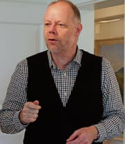 Martin Schindler, Leiter Archäologie Kanton St. Gallen. (Bilder: Andrea Häusler)