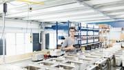 Blick in die Produktion: Coltene kann bei praktisch allen Produkten die Verkaufszahlen steigern. (Bild: PD)