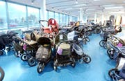 300 Kinderwagenmodelle stehen im HW Baby Center zur Auswahl. (Bild: pd)