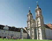In der Kathedrale finden übermorgen Sonntag eine Vielzahl an Feiern zum Gallustag statt. (Bild: Coralie Wenger)