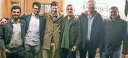 V. l.: Schehryar Malik, Dario Weissinger, Thomas Percy, Vullnet Sadiku, Engjull Halimi, Stefan Güntert. (Bild: pd)