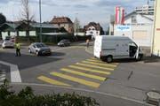 An den Autos entstand ein Sachschaden von 14000 Franken. (Bild: Kapo SG)