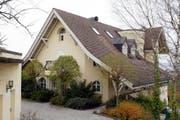 430 Quadratmeter Wohnfläche: Die 1989 erbaute Villa in Scherzingen. (Bild: MARIO GACCIOLI (KEYSTONE))