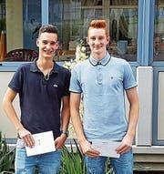 Aus der Region: Jerome Zwick (links) und Roman Scardanzan. (Bild: PD)