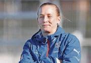 Nora Häuptle ist seit 2015 U19-Nati-Trainerin. (Bild: SALVATORE DI NOLFI (KEYSTONE))