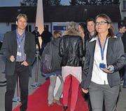 Auf dem roten Teppich: Geschäftsführerin Susi Weder.