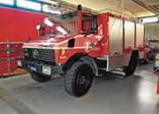 Seit über 30 Jahren im Dienst: Das Pikettfahrzeug der Feuerwehr Altstätten-Eichberg muss ersetzt werden. (Bild: Max Tinner)