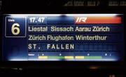 Fehlanzeige am Basler Bahnhof. (Bild: Leserbild: Andreas Walker)