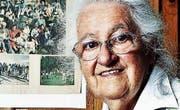 Heidi Frei, die Ersatzmutter so vieler Waisen- und Sozialwaisen, im Alter von 82 Jahren. (Bild: Screenshot: Beobachter)