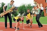 Musik- und Turnverein organisieren zusammen den Heldenlauf und den Dämmerschoppen und freuen sich auf viele Zuschauer. (Bild: pd)