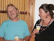 Die Gewinner: Dani Müller und Cornelia Büchel