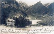 Das alte Berggasthaus auf einer Postkarte aus dem Jahr 1903. (Bilder: PD)