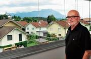 «Eine schöne Aufgabe, ein sinnvoller Dienst am Mitmenschen», meint Hansruedi Büchel zu seinen Einsätzen für den Hospizdienst Rheintal. (Bild: Max Tinner)