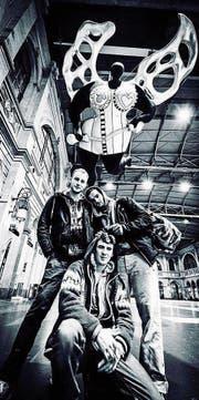 Das Tim Bond-Trio spielt in der «beAchtbar» auf. (Bild: PD)