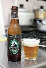 Das Bier aus der «SanktGallen Brewery» in Japan. (Bild: PD)