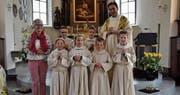 Erste Heilige Kommunion am Ostermontag (Bild: Beatrice Bollhalder)
