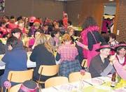 Pink herrschte vor – die Frauen zeigten viel Phantasie und Kreativität. (Bild: vk.)