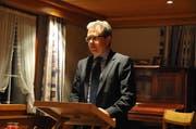 In Inseraten wird Ruedi Eberle als Bauherr vorgeschlagen, er wusste aber von nichts. (Bild: APZ)