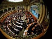 An der vereinigten Bundesversammlung liegt es, einen neuen Bundesrat zu wählen. (Bild: PD)