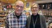 Max und Martina Inauen verabschieden sich in den Ruhestand. (Bild: pe)