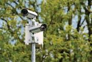 Videoüberwachung kommt in den Anfragen an die St. Galler Fachstelle für Datenschutz immer wieder zur Sprache. (Bild: Reto Martin)