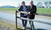 Heidi Mauch und Kurt Löffel vom Verein «Dorftreffpunkt Stein». (Bild: Astrid Zysset)