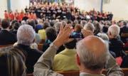 Das Kirchenklangfest Cantars verbindet Gläubige: Sowohl als Ausführende, als auch als Zuhörer. (Bild: Carola Nadler)