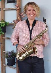 Katja Raschle sagt: «Musik ist meine Leidenschaft.» (Bild: Peter Jenni)