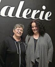 Christina Rechsteiner mit Daniela Arndt. (Bild: ANDREAS TAVERNER CH-8555-MUELLHE)