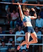 Nicole Büchler triumphiert als erste Schweizerin in der Diamond League – und lässt die Weltmeisterin Yarisley Silva hinter sich. (Bild: EQ Images)