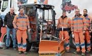 Das neue Einsatzfahrzeug für die Werkhofmitarbeiter (Bild: Monika Wick)