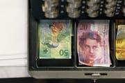 Die St.Galler Gemeinden haben mehr Geld in der Kasse als noch im Vorjahr. (Bild: Keystone)
