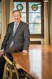Stadtpräsident Martin Salvisberg ist mit dem Abschluss zufrieden. (Bild: Reto Martin)