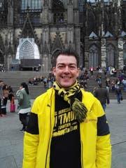 """Thomas Schaffner am Tag nach dem Anschlag vor dem Kölner Dom: """"Wir müssen zusammenstehen gegen Gewalt."""" (Bild: pd)"""