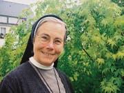 Die Barmherzige Schwester Josefa empfindet das Klosterleben nicht als Verzicht, sondern als gültige Alternative zu einer weltlichen Lebensform. (Bild: Brigitte Schmid-Gugler)