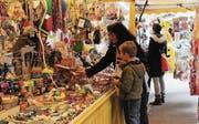 An den Spielwarenständen schlägt wohl jedes Kinderherz höher.