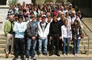 Einen denkwürdigen Tag erlebte die Schülergruppe «Politik» aus dem Stacherholz in Bern. (Bild: Hedy Züger)