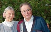 Greti und Hans Ueli Hohl sind seit 60 Jahren verheiratet. Sie blicken auf ein hochinteressantes Leben zurück. (Bild: Isabelle Kürsteiner)