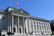 Das Bundesgericht in Lausanne. (Bild: LAURENT GILLIERON (KEYSTONE))