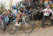 An der Flandern-Rundfahrt begeistern sich die Anhänger nicht nur für Stars wie Fabian Cancellara. (Bild: epa/John Thys)