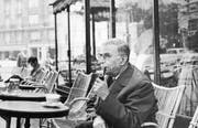 Jean-Paul Sartre in Paris (1905-1980) (Bild: Getty Images/1964)