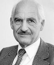 Remigius Kaufmann, 20. Juli 1925 bis 28. März 2011. (Bild: Regina Kühne)